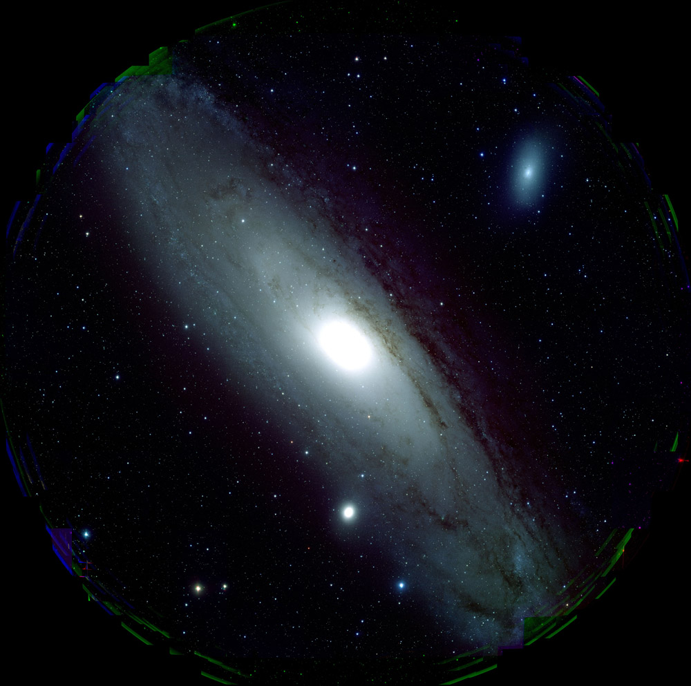 Stunning New Photo of Andromeda Galaxy Taken by New High-Res Instrument