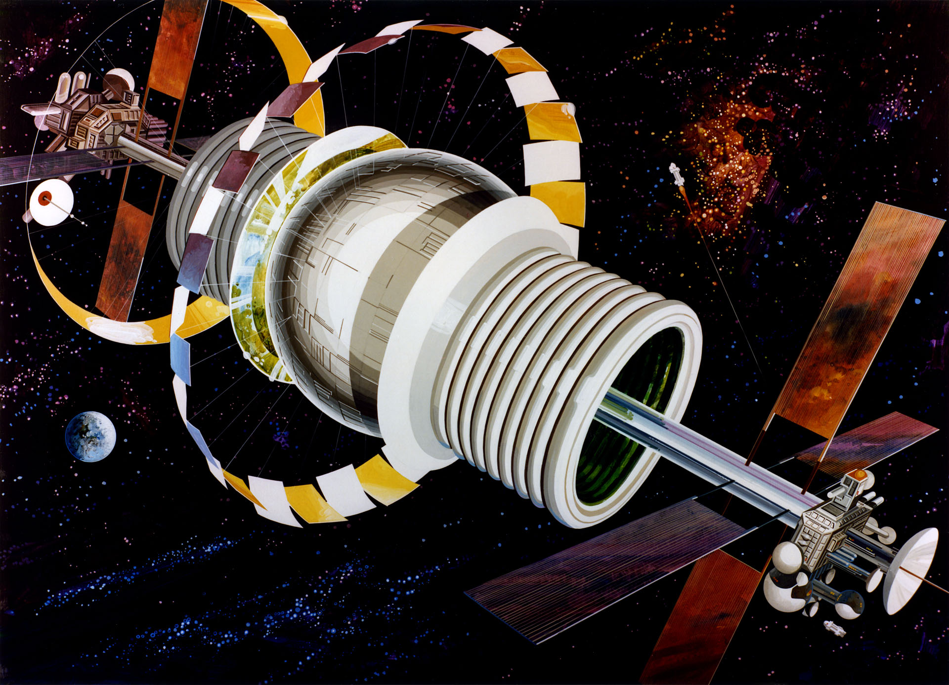 Incredible Technology: How to Build a Space Station Colony