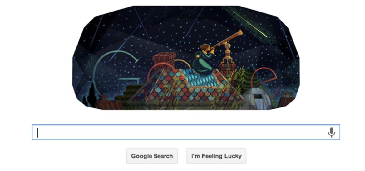 'Miss Mitchell's Comet' Streaks Across Google Doodle Today