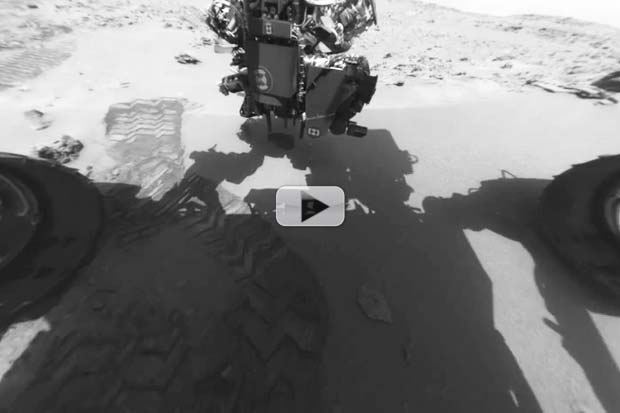 Curiosity's First Year On Mars In 2 Minutes | Time-Lapse Video