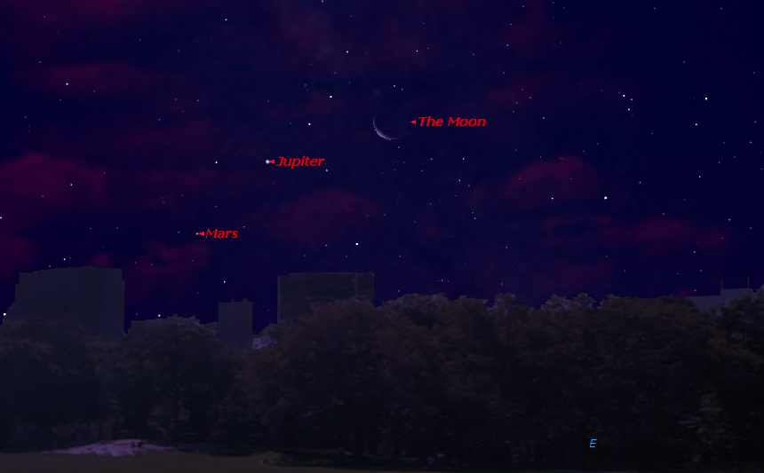 Jupiter, Mars and Mercury: See a Planet Triple Play This Weekend