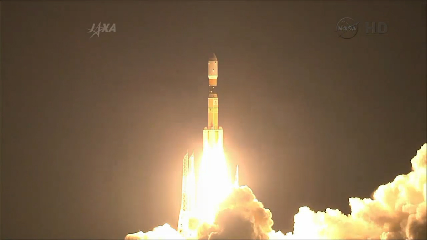 Liftoff! Japan Launches HTV-4