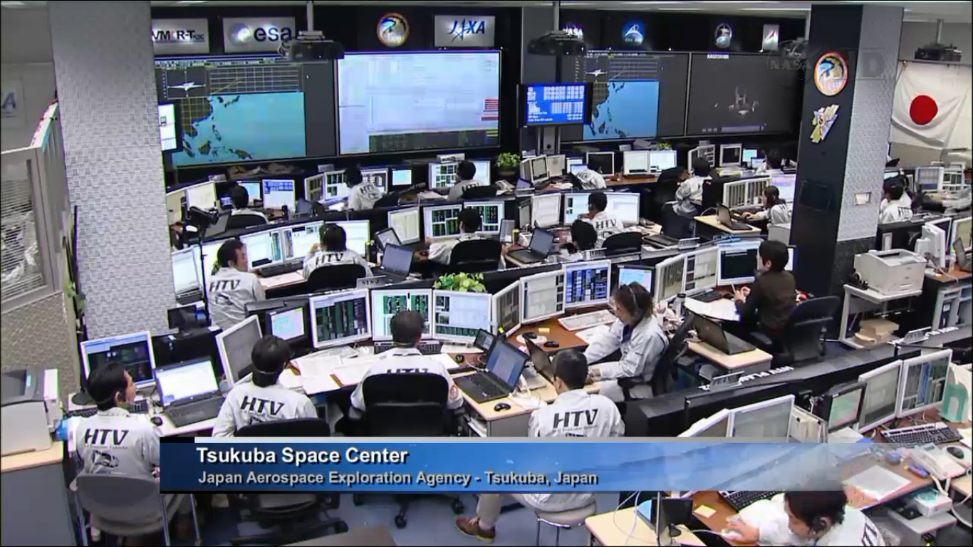 Inside JAXA Mission Control for HTV-4 Launch