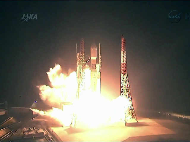 Japan Launches HTV-4 Cargo Ship Into Space