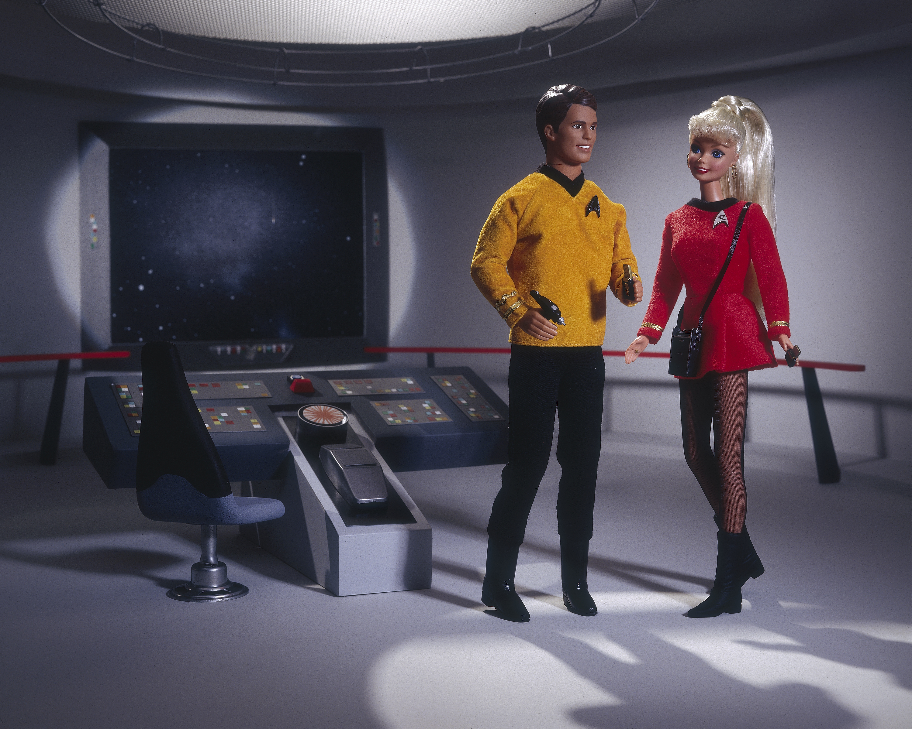 'Star Trek' Barbie and Ken (1996)