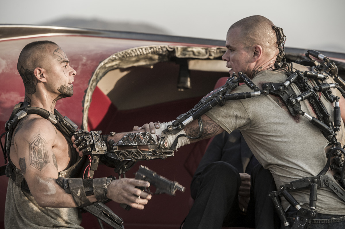 The Real Tech Behind 'Elysium' Exoskeletons