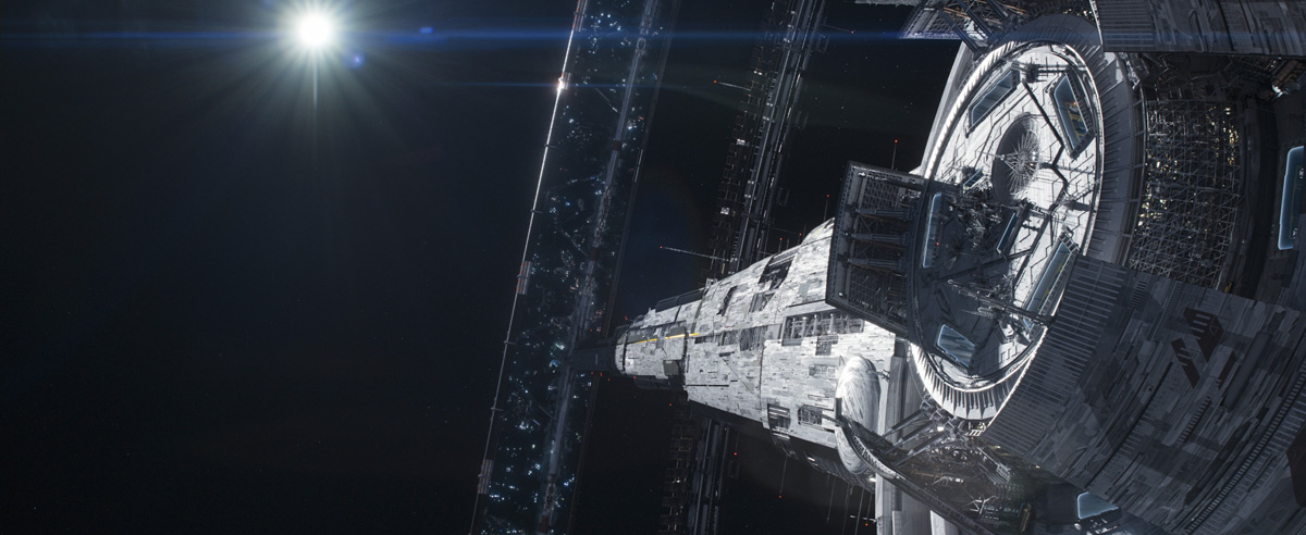 Amazing Sci-Fi Space Stations