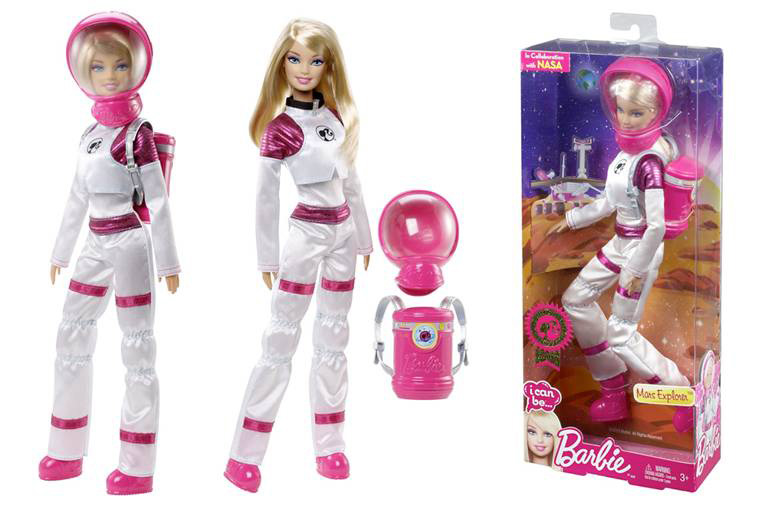 Mattel's Astronaut Barbie Becomes a Mars Explorer with NASA Help