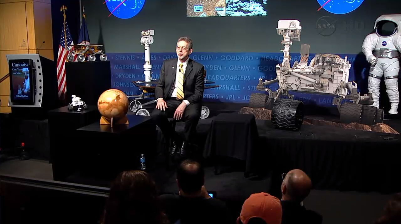 Curiosity Rover One-Year Anniversary Celebration