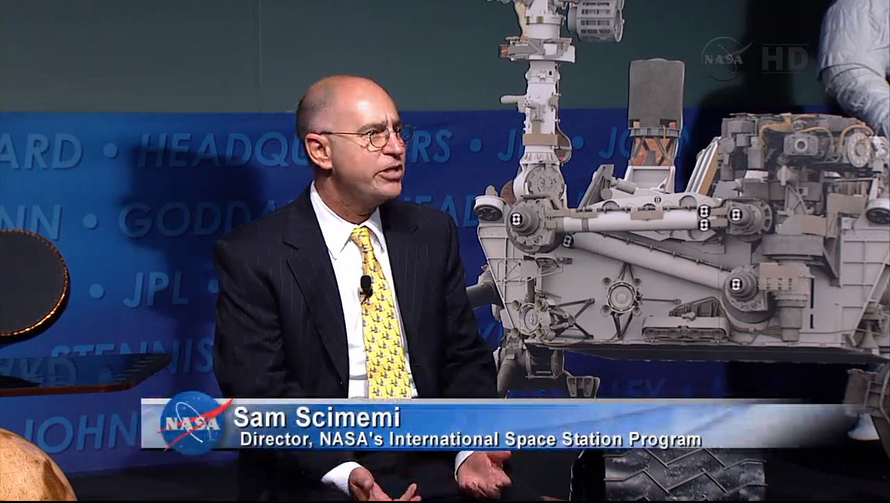 Sam Scimemi, Director, NASA's International Space Station Program