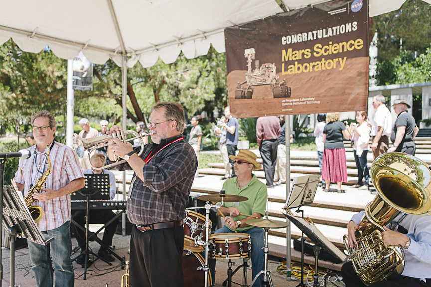 JPL Jazz Curiosities Perform at Curiosity Celebration