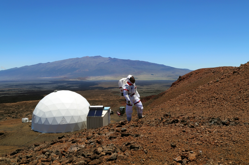 Mock Mars Explorers Roam Hawaii: HI-SEAS Food Mission Photos