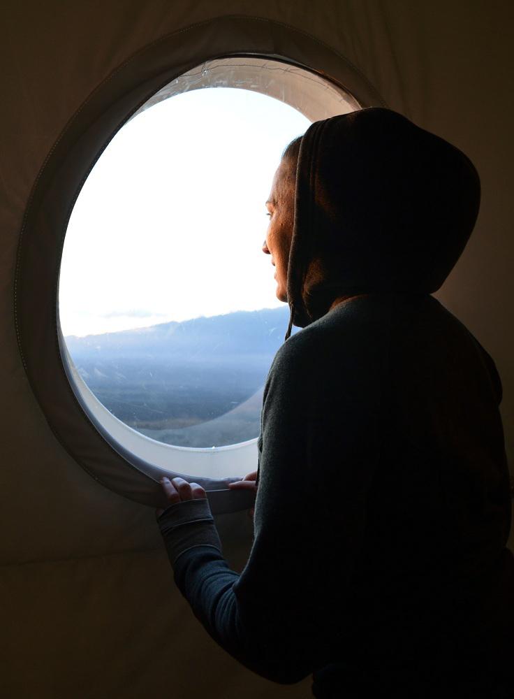 Dr. Yajaira Sierra-Sastre Admires Sunset