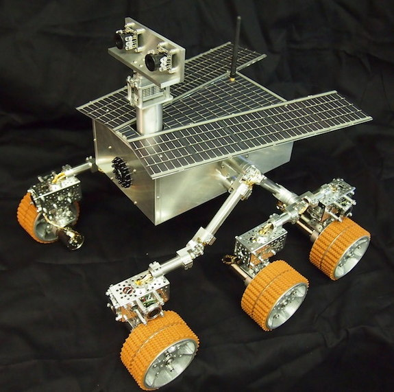 The Beatty Robotics Mars Rover was commissioned by the New York Hall of Science. The rover was installed June 8, 2013.