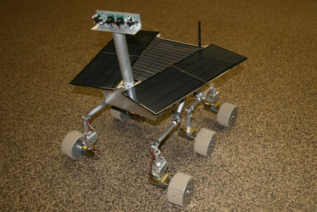 Beatty Robotics' Spirit II Mars Rover