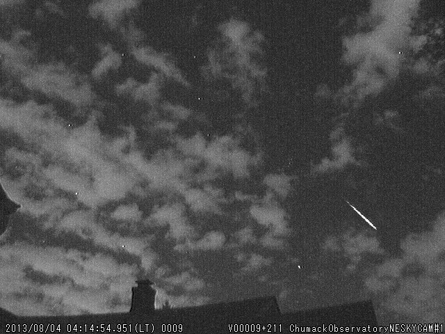 2013 Perseid Meteor Over Dayton, Ohio