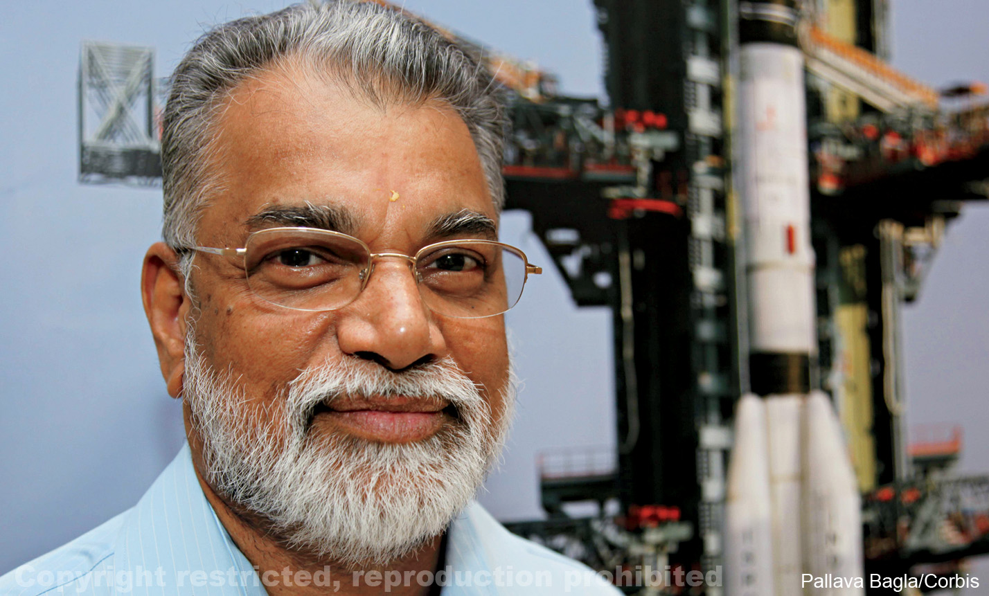 K. Radhakrishnan, Chairman of the Indian Space Research Organization