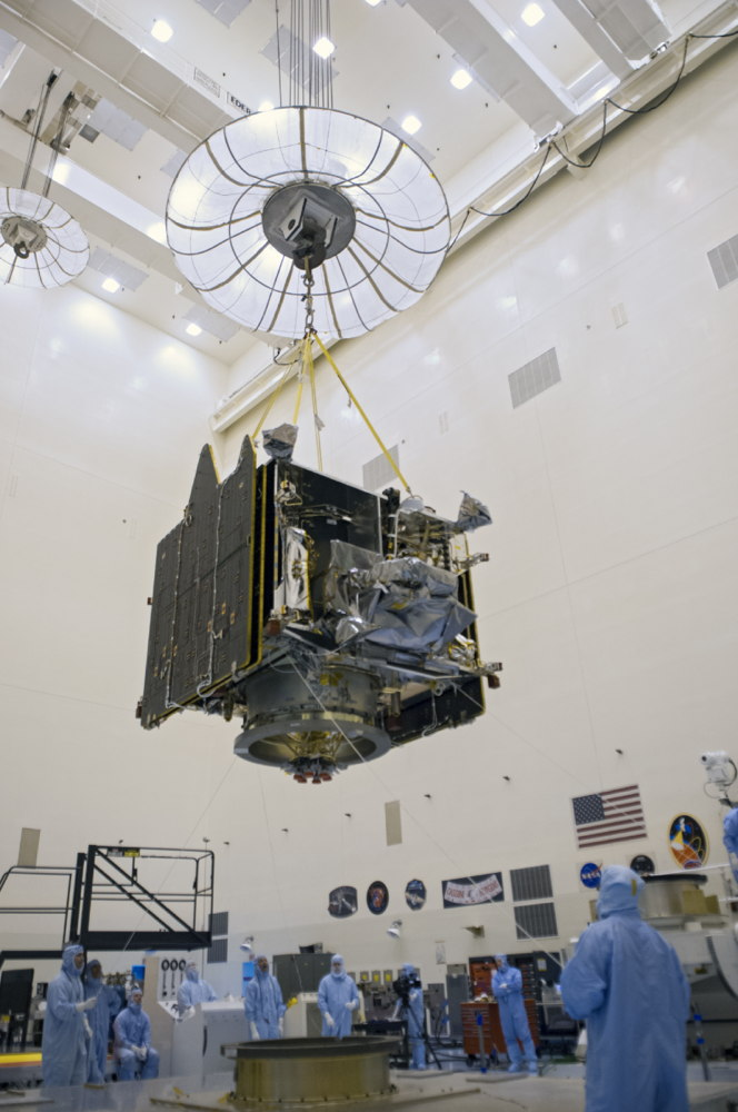 MAVEN Arrives at Kennedy Space Center for Launch Processing