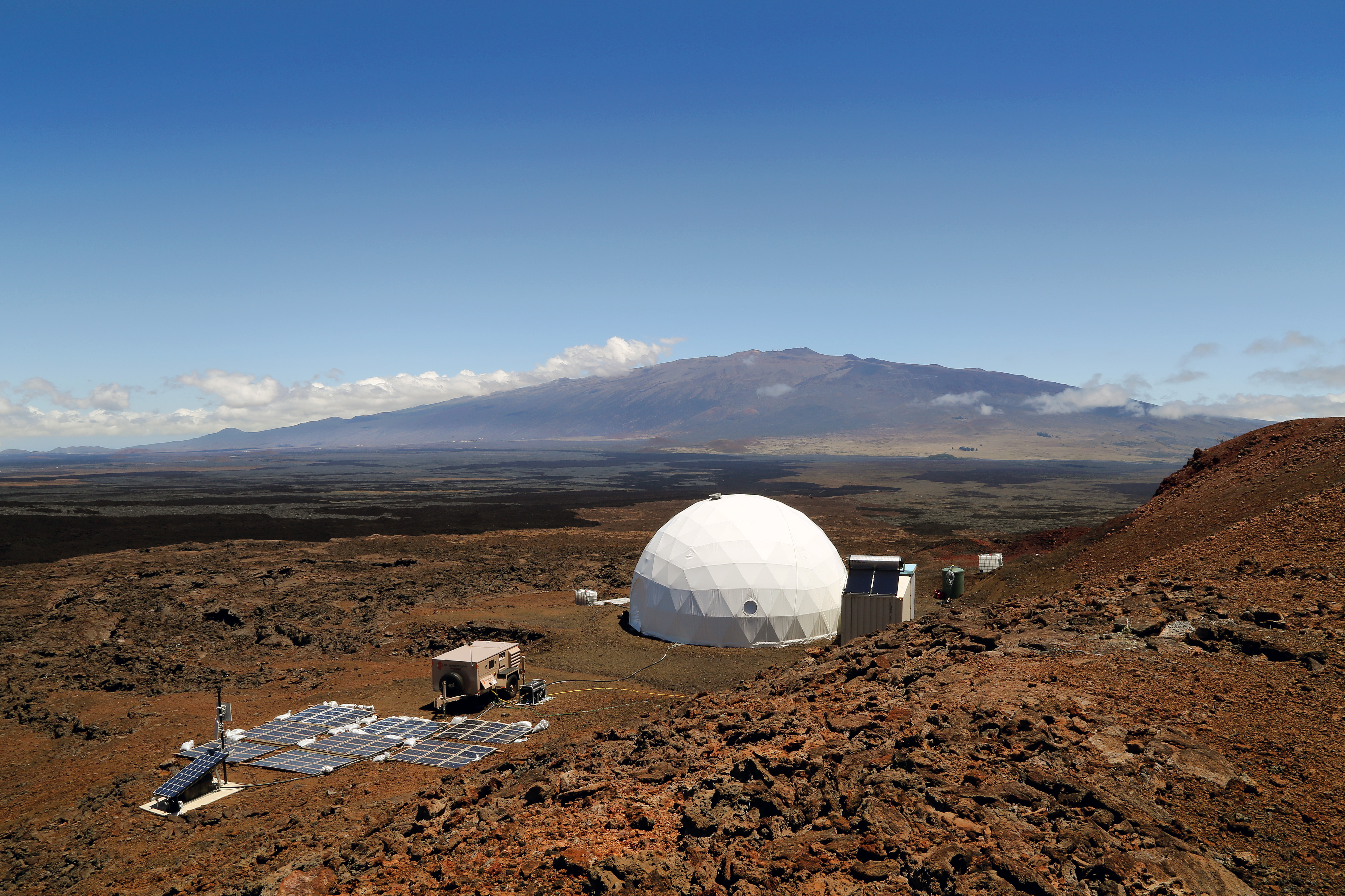 Manned Mock Mars Mission Wrapping up in Hawaii