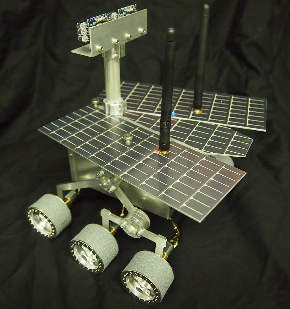 Mini-Mars Rover for European Museum