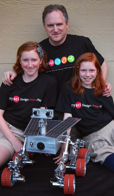 Sister Act: Schoolgirls Build Working Mars Rover Model (Photos)