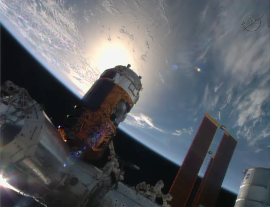 Japanese Cargo Ship Delivers Fresh Supplies to Space Station