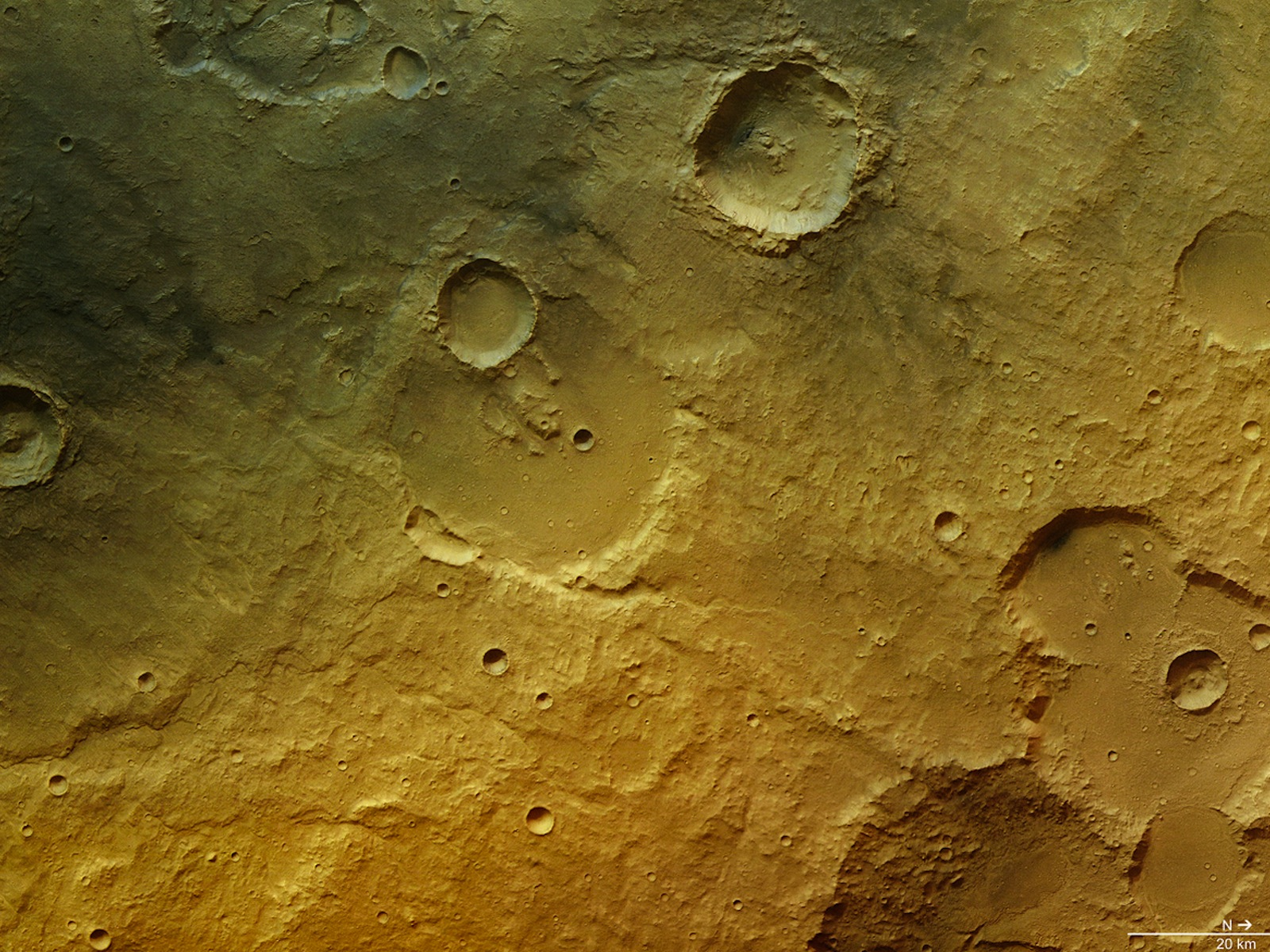 Tagus Valles space wallpaper