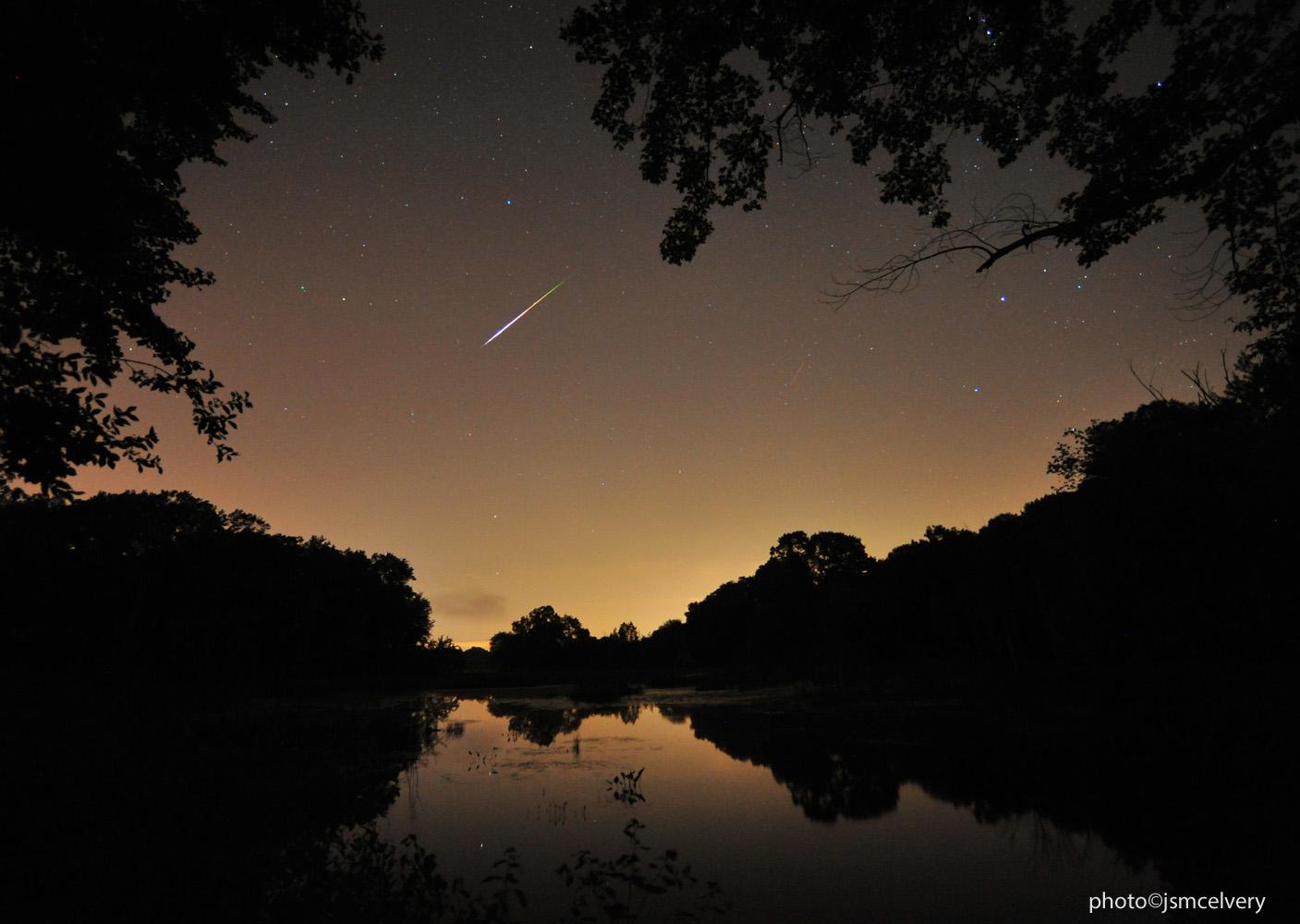 Perseid Meteor Shower 2013: Jonathan S. McElvery