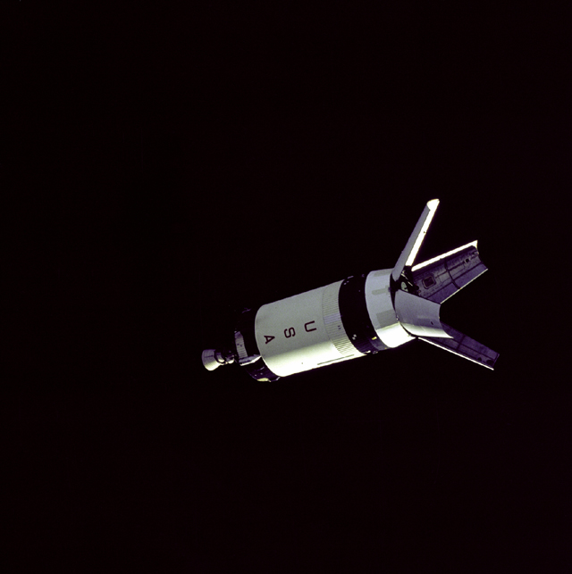 Space History Photo: Saturn V Third Stage LM Adapter