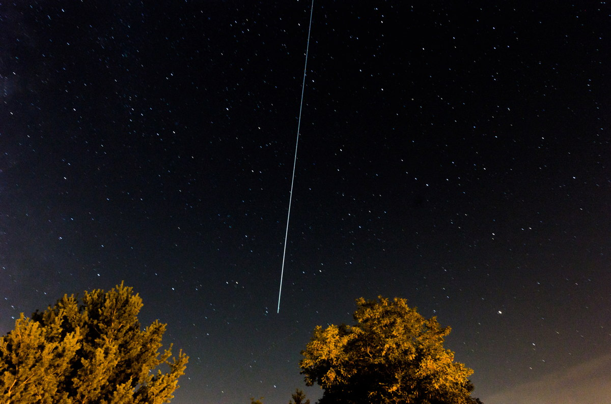 2013 Perseid Meteor Over Pennsylvania