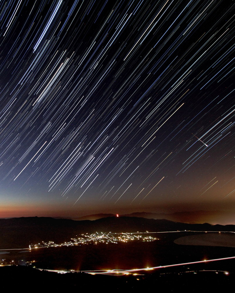 2013 Perseid Meteors Over Washoe Valley, NV