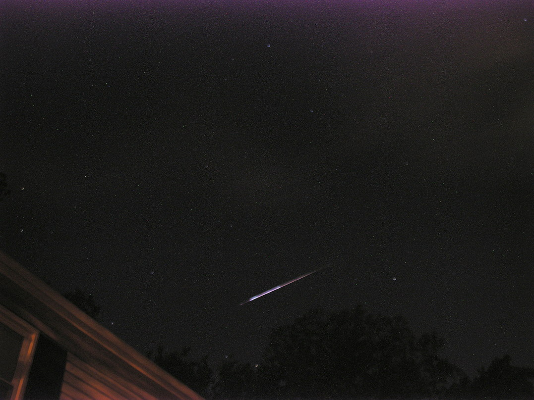 2013 Perseid Meteor Over New Jersey