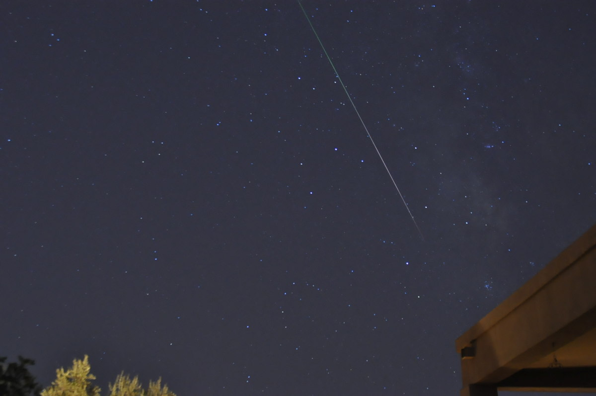 2013 Perseid Meteor Over Phoenix, AZ