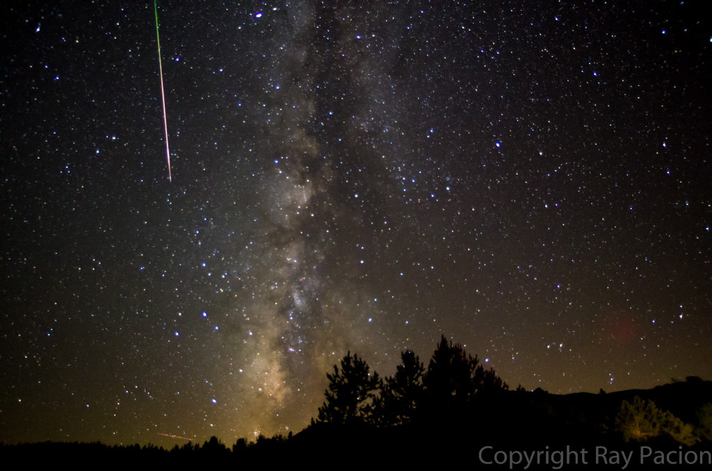2013 Perseid Meteors over the California High Desert