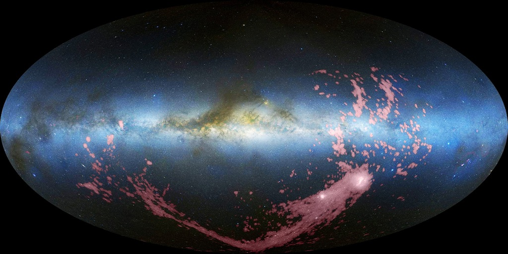All Sky View of Magellanic Stream 1024