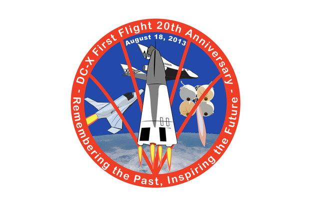 DC-X First Flight 20th Anniversary Logo