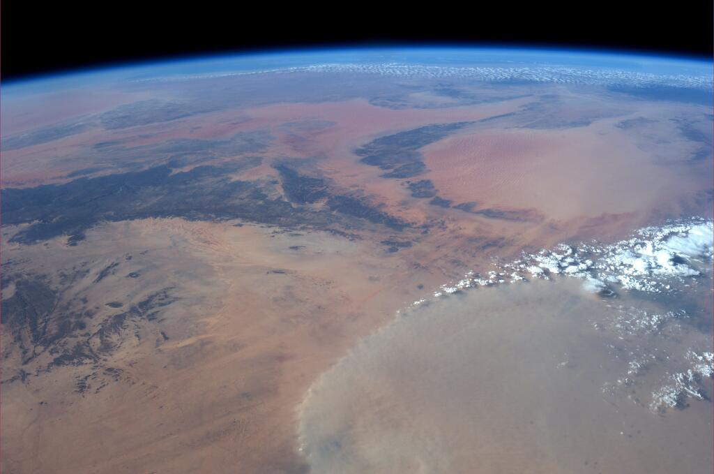 North Central Africa from ISS