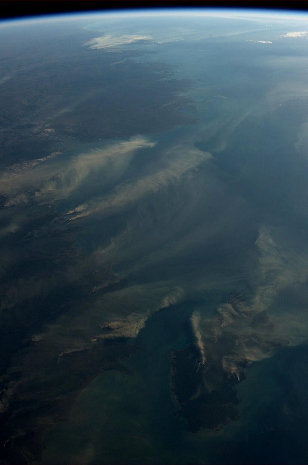 Australia on Timor Sea as Seen From ISS