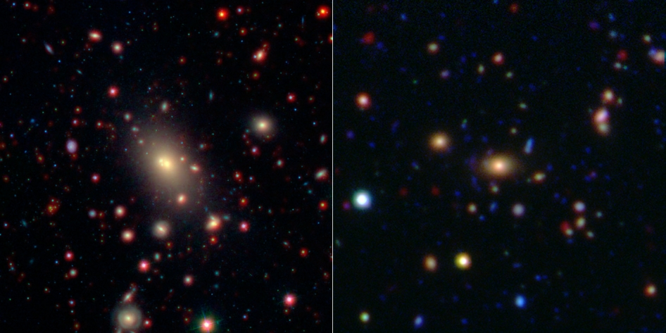 'Cannibal' Monster Galaxies Lose Appetite In Old Age