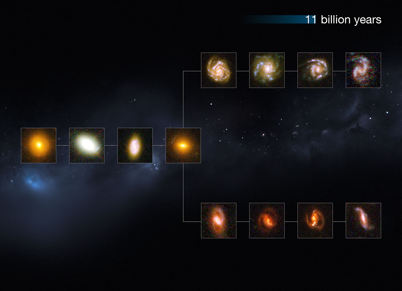 The Universe 11 Billion Years Ago