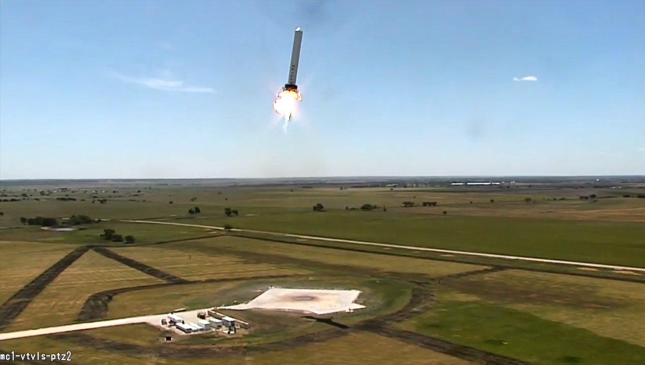 SpaceX Grasshopper Lateral Test Flight
