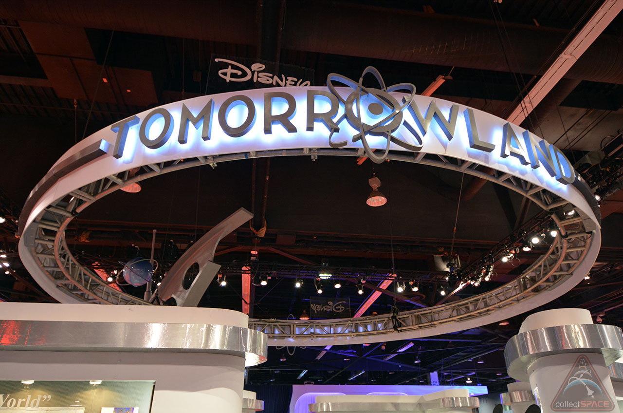 Disney's 'Tomorrowland' Movie Inspired by Space Memorabilia