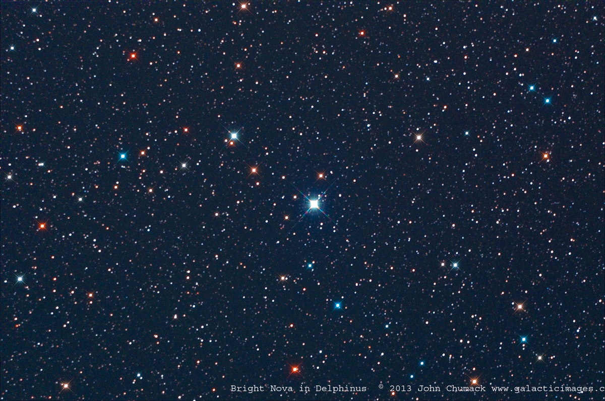 Nova PNV J20233073+2046041 Photographed by John Chumack