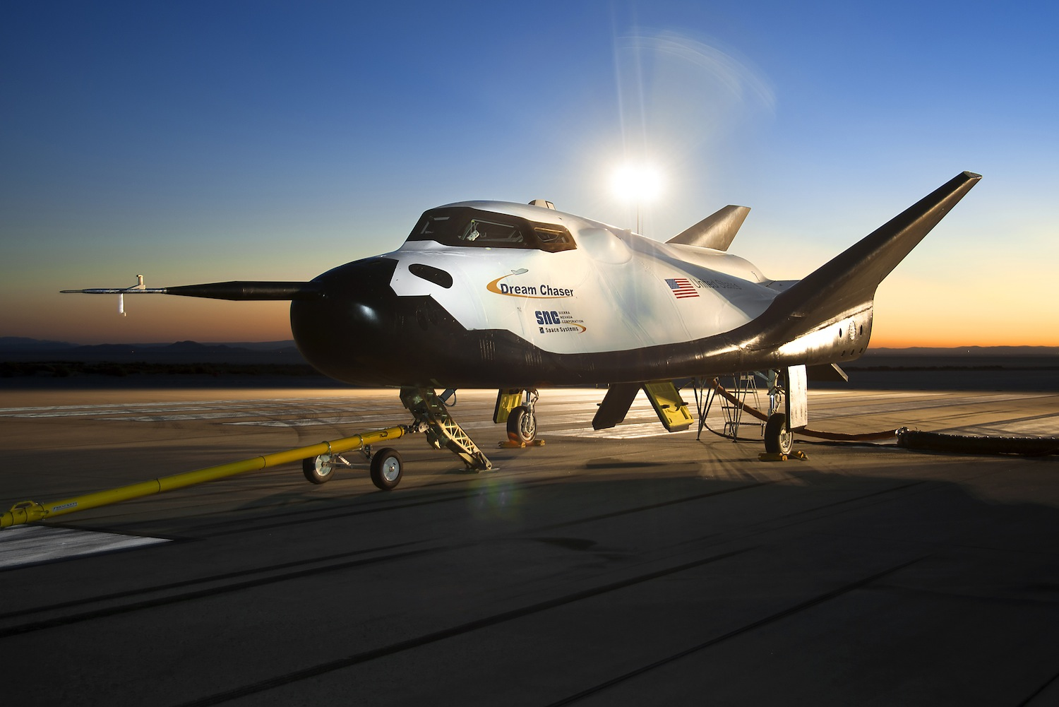 Private Space Plane Passes Runway Tests
