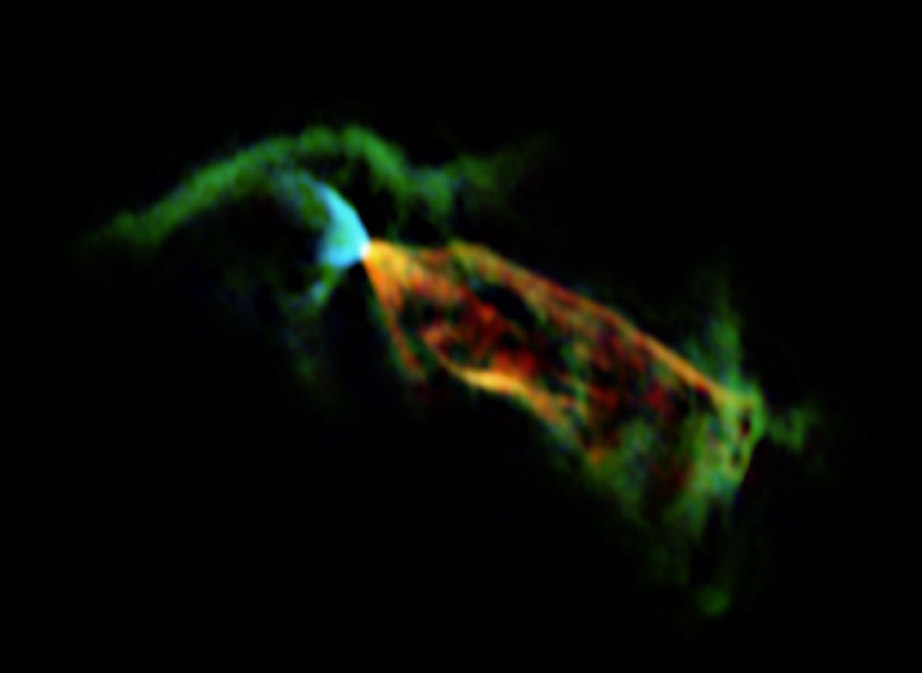 ALMA's View of Herbig-Haro Object HH 46/47 Outflow