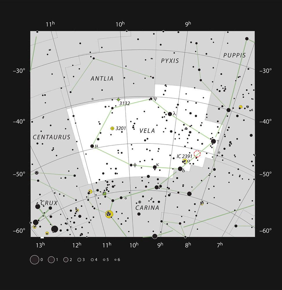 Herbig-Haro Object HH 46/47 in Vela