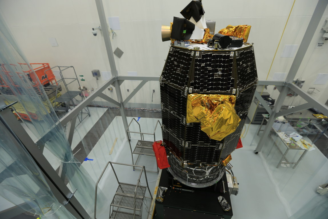LADEE Awaits Spin Balance Testing