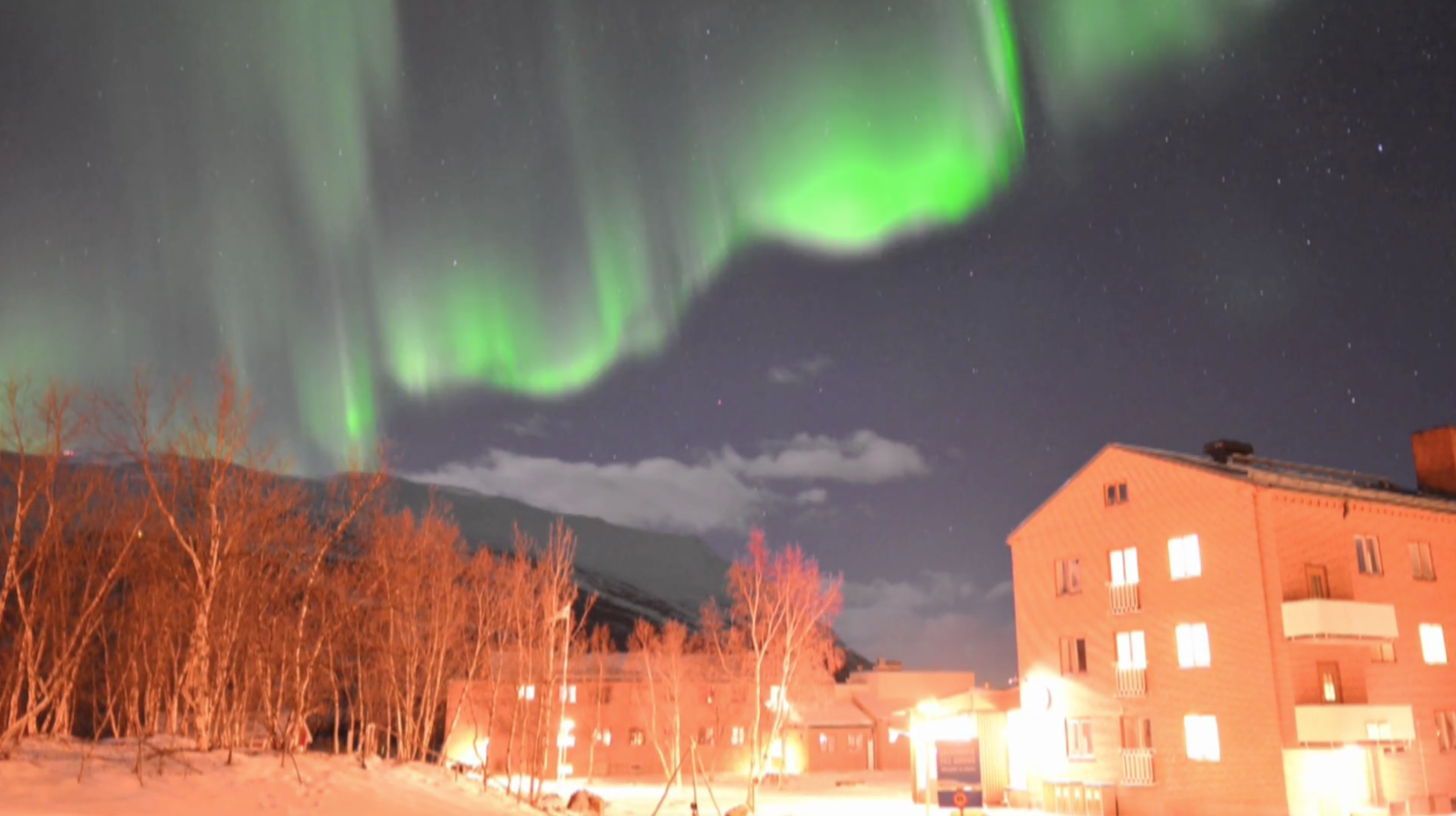 Aurora Over Abisko National Park