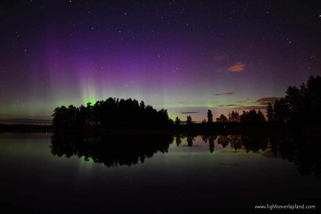 Aurora Over Abisko