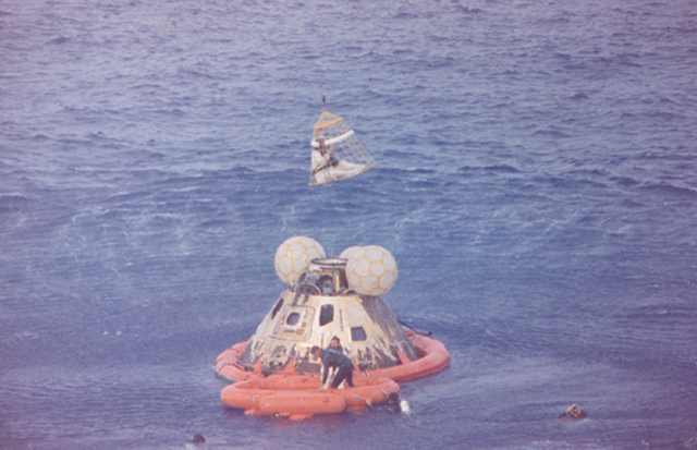 Space History Photo: Apollo 13 Recovery Area